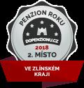 Penzion získal ocenění v anketě Penzion roku 2018